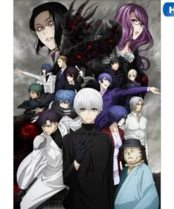 Painting Wall-Posters Comic Exhibition Tokyo Ghoul Living-Room Home-Decor Anime 30x42cm