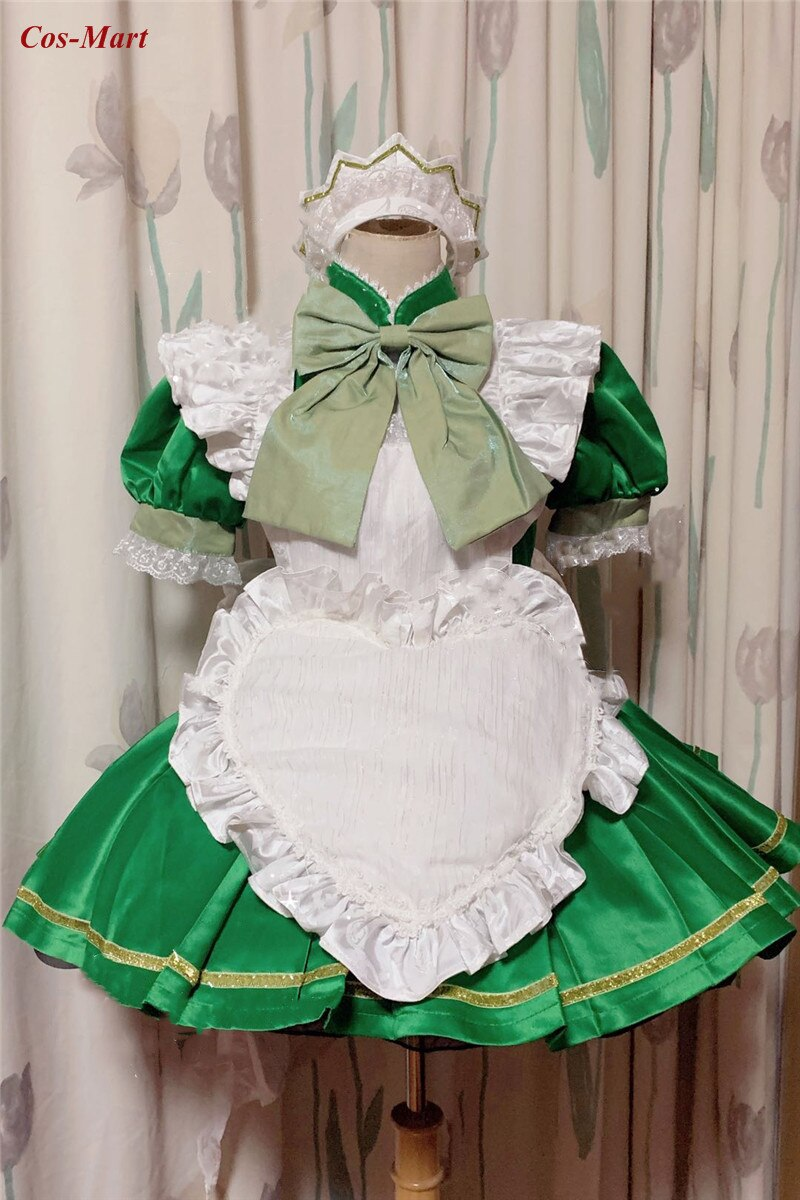 Maid Dress Tokyo Mew Mew Clothing Cosplay Costume Custom-Make Role-Play Anime Party Cute