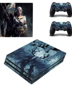 Skin-Sticker Console 2-Controllers-Accessories Playstation Anime Ps4 Pro Decal Vinyl