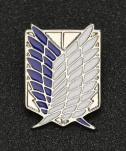 Attack On Titan Brooch Pin Wings of Liberty Freedom Scout Regiment Legion Survey Recon Corp Eren Badge Anime Jewelry Wholesale