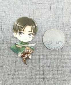 Action-Figure Attack Titan Acrylic Home-Decoration Anime Air-Outlet Prefect-Quality