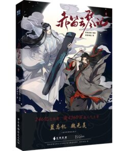 Books Manga Anime China Limited-Edition Coloring Zu Adult Mo Dao Shi Picture-Paintings