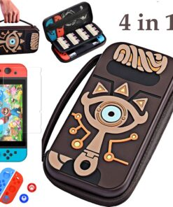Carrying-Pouch Game-Console-Cover Hard-Shell-Case-Kit Ns-Accessories Nintend-Switch