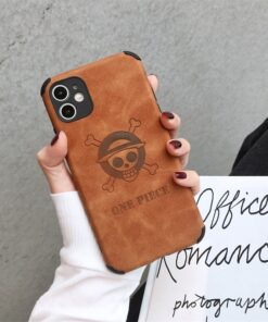 Cartoon Anime One Piece Luffy Couples Phone Cover Case For Iphone X 11 12 Pro Xs Max