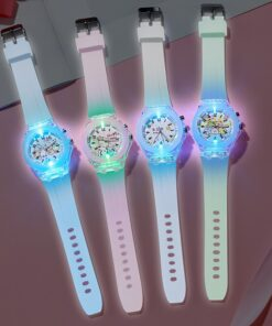 Cartoon Anime Peripheral Flashing Light Night Kids' Ch New Style Young Student'S Wholesale