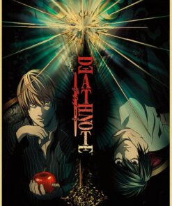 Painting Art Poster-Bar Picture Wall-Sticker Kraft Paper Room Decoration Death Note Classic