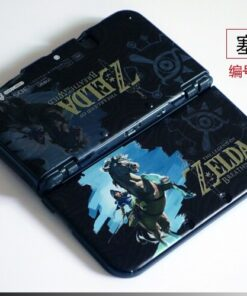 Shell Top-And-Buttom-Case Console Pattern-Protector Colorful for New 3DS XL Anime