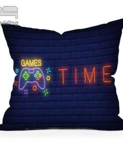 Pillowcase Playstation-Buttons Throw Luxury-Printing Custom Square Vintage-Style Hot-Sale