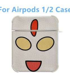 Cover 1-Headset-Case Air-Pods Anime Funny Super-Man Earphone for Apple Charging-Box Funda