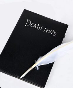 Death Notebook Diary Feather-Theme Cosplay