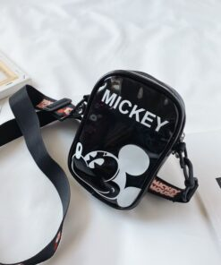 Bags Coin-Purse Mickey Mouse Baby Children's Disney Shoulder-Bag Girls New Anime Cartoon