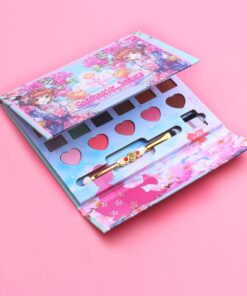 Eyeshadow-Palette Makeup-Set Anime Cosmetics 26-Colors Fashion Matte Glitter with Brush