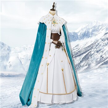 Anastasia Cosplay Costume Dress Grand-Order Outfits Cloak Anime Clothes Female for Women