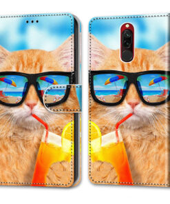 For Xiaomi Redmi 8 A 8A Flip Case Leather For Xiaomi Redmi 8 Wallet Case Magnetic Cover