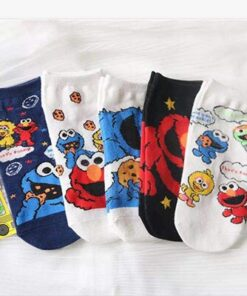 Fashion Socks Animals Funny Girls Personality Cotton Cartoon Women Cute 5-Pairs And Casual