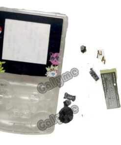 Cover Gameboycolor Housing-Case DMG Plastic New GBO Galyme Screen-Lens Monsters-Version