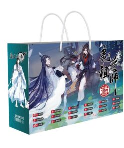 Bookmark Lucky-Bag Gift-Bag Mo of Zu Dao Shi Toy Postcard-Poster Fans Grandmaster Demonic-Cultivation-Anime
