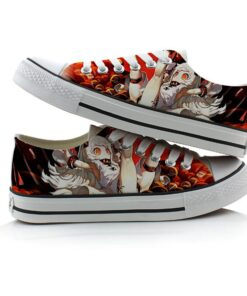 Shoes Bottom Canvas Unisex Casual Kantai-Collection High-Q Plimsolls Anime Low-Flat