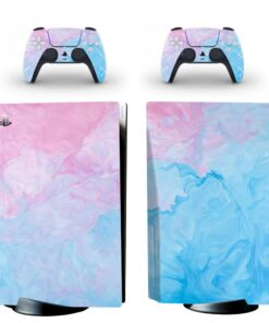 Skin-Sticker Console Controller Hot-Games Ps5 Dualsense Playstation-5 Anime for Cd-Disk-Edition