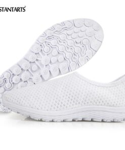 Flats-Shoes INSTANTARTS Light-Weight Slip-On Breathable Summer Anime Air-Mesh Funny Nurse-Print