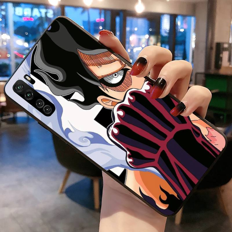Japan Anime One Piece Luffy Phone Case for Huawei P20 P30 P40 lite E Pro Mate 40 30 20