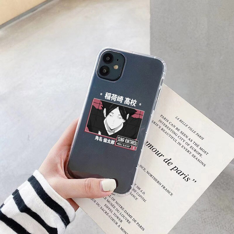 Japan Anime Volleyball Boy Haikyuu Phone Case for Iphone 11 12 Pro X XS MAX XR 6s 7 8