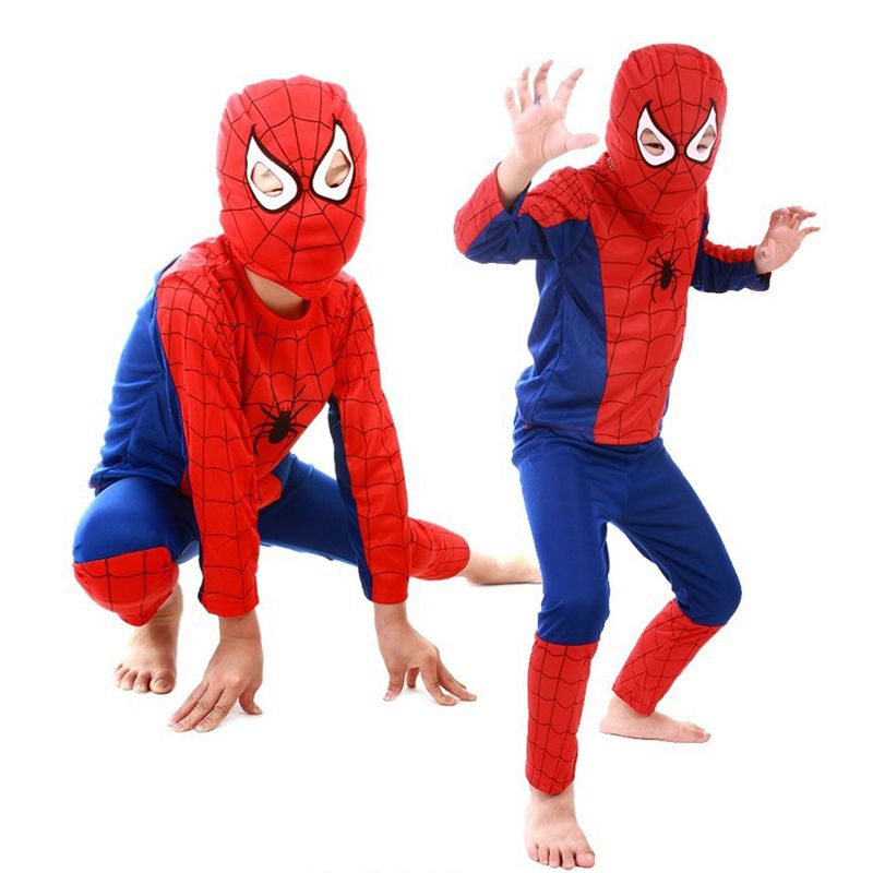 Mask Cosplay Suit Sleepwear Clothing-Sets Pant Costume Children Halloween Party Toddler