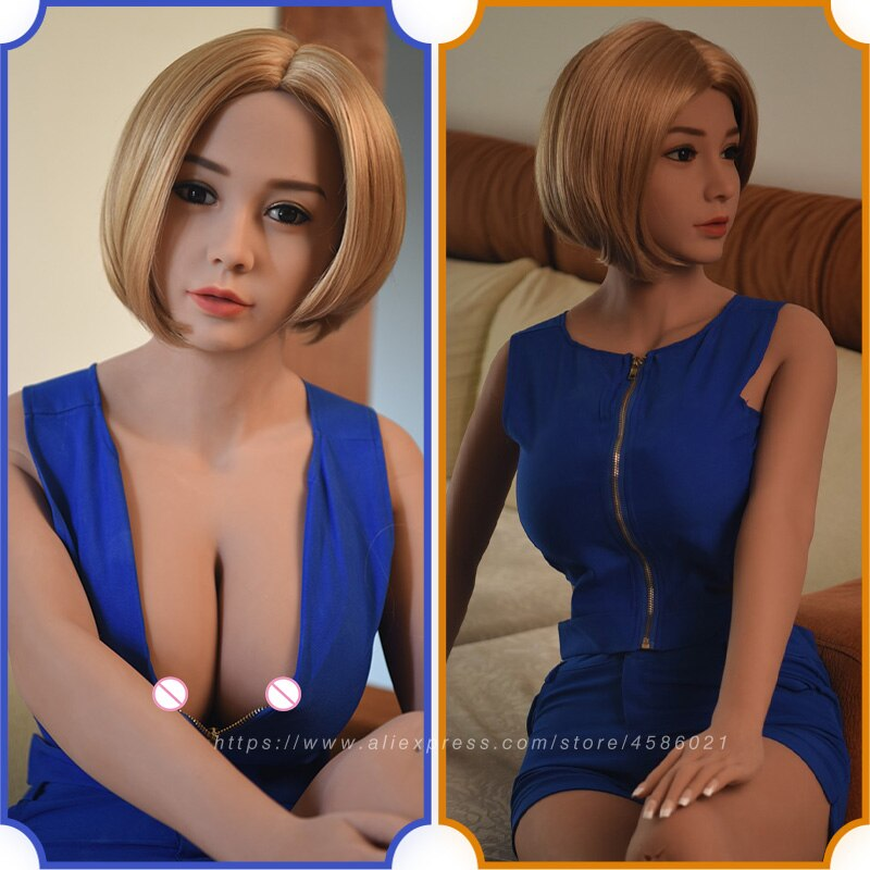 Toys Robot Sex-Dolls Vagina Random-Delivery Japanese Breast Anime LOMMNY Realistic Silicone