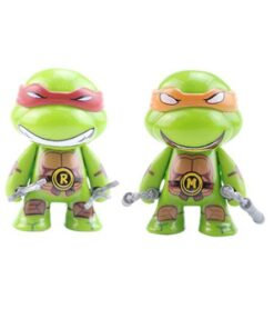 Toys Action-Figure Leo Turtle Mini Mikey Cartoon Doll Birthday-Gifts for Children Anime