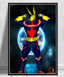 My Hero Academia Anime Canvas Painting Posters and Prints Pictures on The Wall Canvas Painting Art Decoration Home Decor Cuadros