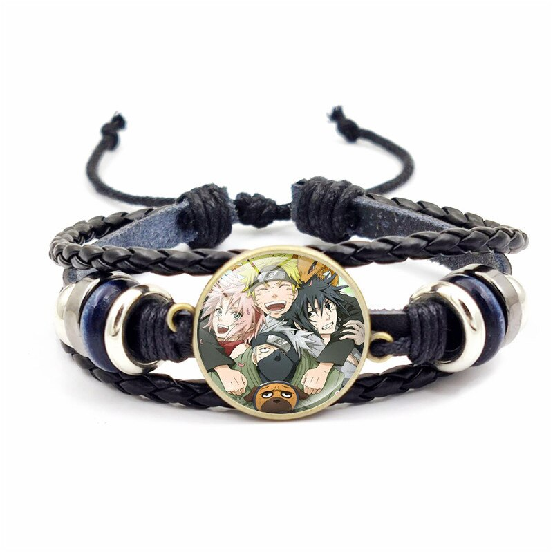 NARUTO Cosplay Bracelet Cos-Accessories Anime Halloween Adult Lovers Jewelry Weave Christmas