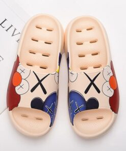 Flops Slides Fish-Mouth-Slippers Beach-Sandals Non-Slip Anime Outdoor Summer Fashion