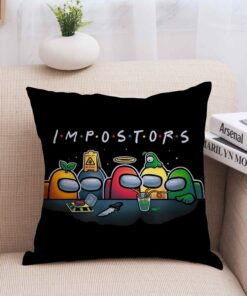 Cover Action-Figure-Prop Pillowcase New Gift 4 Game No-One Anime Amongus Trust Cartoon