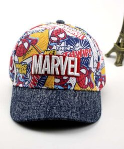 Boy Hats Baseball-Caps Spring 3-8-Years-Old Children's Cartoon New for Sunshade Outdoors