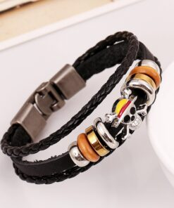 Cosplay-Props Bracelet-Accessories Monkey Metal Anime One-Piece Jewelry Wristband Rope