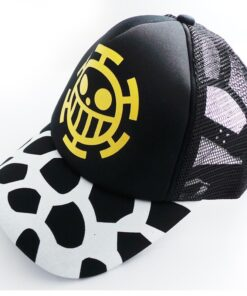 Cotton-Cap Sun-Hat One-Piece Colorful Fashion Anime Cosplay Casual with Trafalgar Law