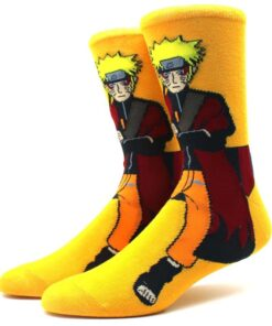 Print Socks Stitching Happy Funny Anime Novelty Colorful Personalized Cotton Men Cartoon