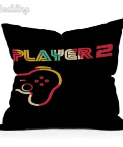 Cushion-Cover Pillow-Case Printed Home-Decor Anime Outdoor Cotton for Player Gamepad