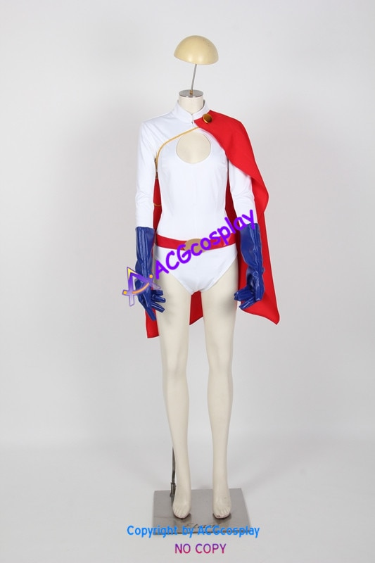 Power Girl Cosplay Costumes from dc comics acgcosplay anime costume