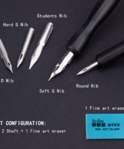 Calligraphy-Pen-Supply Comic Drawing-Anime Artist Multi-School And for Art-Supplier 5-Pen