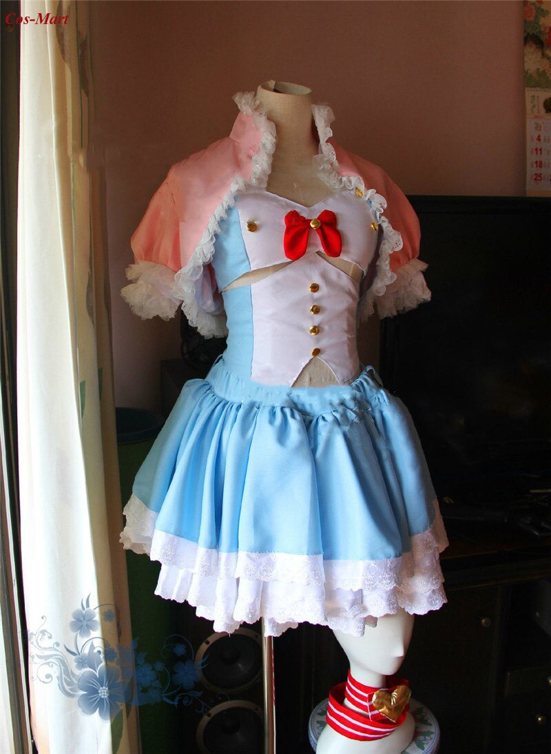 SUPERSONICO Cosplay Costume Fashion Anniversary Cake Formal Dress Anime Expo Activity Party Role Play Clothing Custom-Make