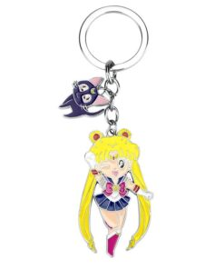 Keychain Accessory-Accessories Character-Props Sailor-Moon Anime Cosplay Plating-Material