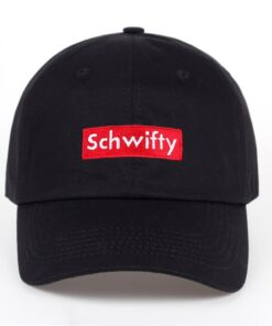 Schwifty Dad hat 100% Cotton Letter Embroidered baseball caps women men Anime snapback