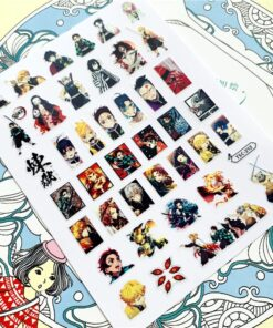 Stickers Decals Sliders Nail-Ornament-Decoration Back-Glue Character Anime Cartoon TSC-212