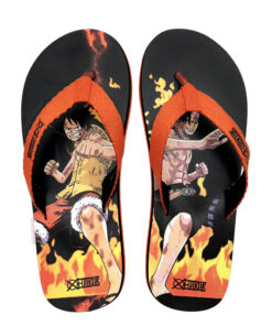 Casual Slippers Slides Babouche One-Piece Anime Sandals Unisex Cartoon Luffy Ace Soft-Bottom