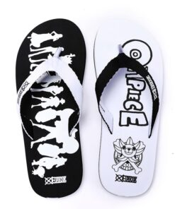 Unisex Anime ONE PIECE Group Casual Slippers Babouche Sandals Slides