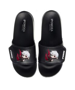Sandals Babouche Slippers Slides Casual Unisex Anime PVC Ghoul Tokyo Buckle Soft-Bottom