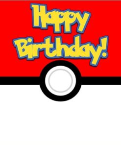Photography Background Birthday-Backdrop Ball Baby Shower Party Cartoon Anime And Pet-Red