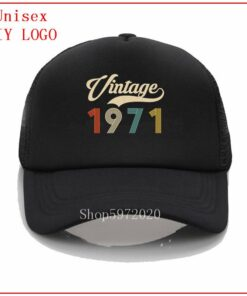 Vintage 1971 Retro Born in 1971 49th Birthday Perfect Gift for Father DAD BF beach hats