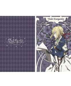 Anime Folder Office Violet Evergarden Kyoto-Animation The for Children Movie L-Code Used-In